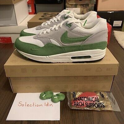 e72f215de4 Nike Air Max 1 Premium QS x Patta Chlorophyll 5th Anniversary UK9.5 US10.