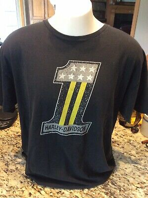 Black Hills Harley Davidson Shirt. Rapid City South Dakota Size XL.