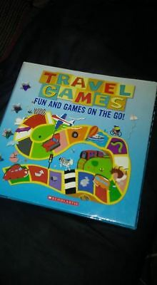 New Travel Games: Fun And Games On The Go By Scholastic