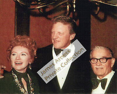 James Arness Gunsmoke Marshal Dillon With Amanda Blake & Milburn Stone Candid