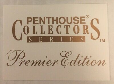 1992 Penthouse Collectores Series Premier Edition Mail In Card + 3 Wrappers