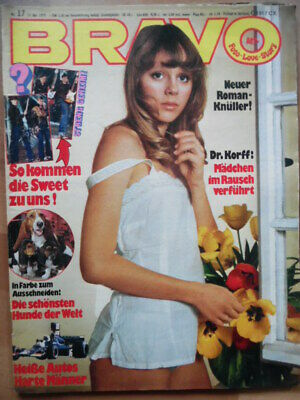 BRAVO 17- 1975 (1) Chaka Khan PILOT Sweet David Essex Dobbie Brothers B. Manilow