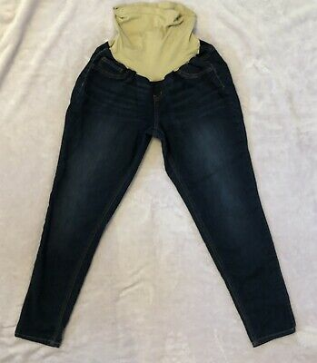 ec8fe25ac2712 Indigo Blue Secret Fit Belly Maternity Blue Jeans - Women's Size XL