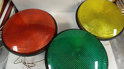 """DiaLight Round One  LED Traffic Light 12"""" 433 / 1210 / 22210 / 3230 Choose Color"""