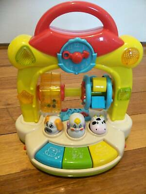 "Baby musical ""cause and effect"" toy"