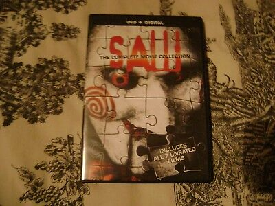 Saw: The Complete Movie Collection DVD No Digital Code