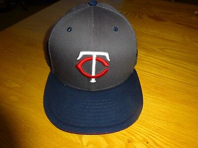 release date: 20ece ef368 MLB Minnesota Twins New Era 59Fifty Fitted Hat Cap 71 4 100% Cotton