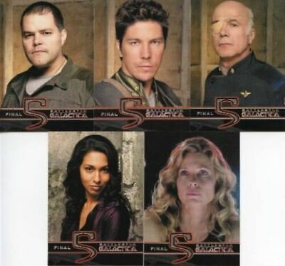 Battlestar Galactica - Season Four - Final Five - Chase Card SET (5) - NM