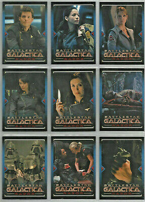 Battlestar Galactica - Season 4 - Razor - Chase Card SET (9) - NM