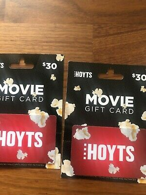 Hoyts Movie Gift Card $60 (2 x $30)