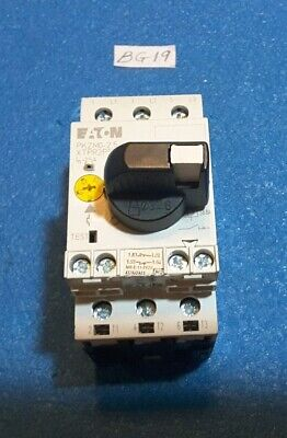 Eaton  Pkzm0-2.5 Xtpr2P5Bc1   Manual Motor Starter W/ Overload Control