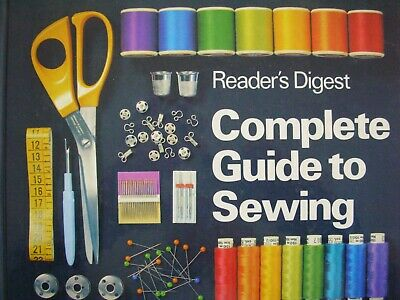 Reader's Digest HardBack 1987 - COMPLETE GUIDE TO SEWING - VGC