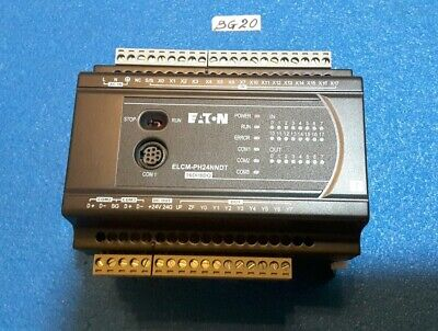 Eaton  Elcm-Ph24Nndt  16Di/8Do Programmable Logic Controller  16 Input/8 Output