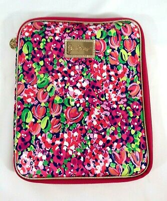 f9ab195250b92a EUC ~ Lilly Pulitzer Notebook/Planner Padded Zippered Holder 10