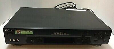 Vintage Sony SLV-N71 VHS VCR - Tested Working
