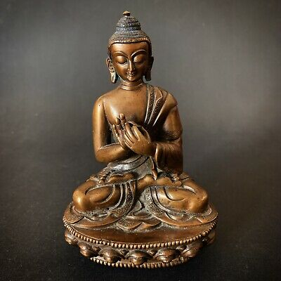 Buddha China Asia Bronze 中国佛 Nepa Tibet