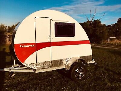 Teardrop Caravan - Stylish, And Easy To Drive. Excellent!