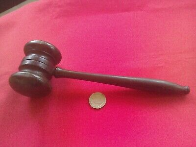 Lovely antique hardwood auctioneers gavel