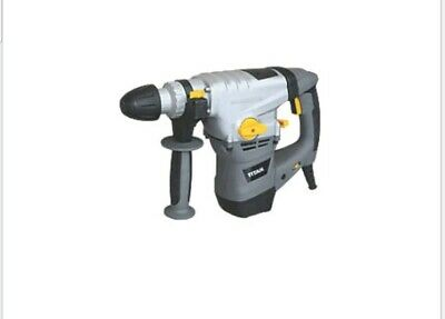 Titan Ttb631Sds 6.3Kg Corded Sds Plus Drill & 22 Piece Accessory Kit 230-240V !