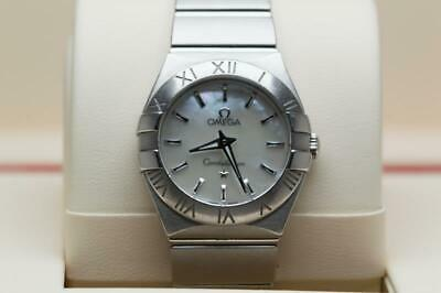Ladies Omega Constellation Wristwatch 24.7mm MOP Dial -  Boxed & Ready To Wear