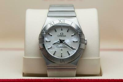 Ladies Omega Constellation Wristwatch 28mm MOP Dial -  Boxed & Ready To Wear