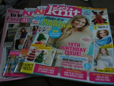 Selection Knitting Magazines