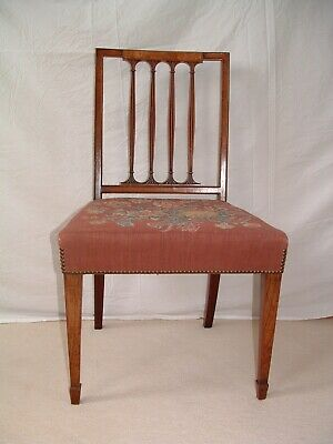 Georgian, single  Geo.3rd. mahogany chair