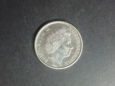 2015 10c ** RARE LOW MINTAGE ** SHINEY LIGHTLY CIRCULATED 10cent 10 cent