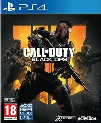 Call of Duty: Black Ops 4 PS4 Mint Same Day Dispatch 1st Class Super Fast Del*