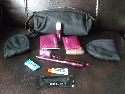 In-flight Gifts/ Amenity Kits Dan Air Plastic Carry Case Box Storage With Drawstring Overhead Drawstring