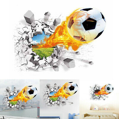 Wall Sticker Football Background Home Household Living-Room Decoration Creative