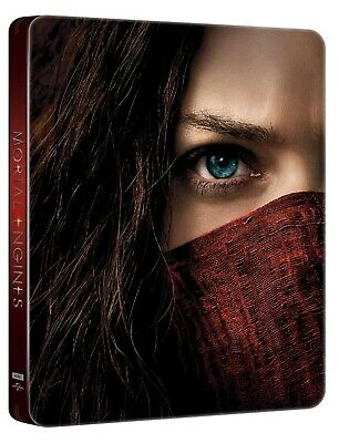 Mortal Engines (Bluray 4K) Limited Edition Steelbook Includes 3D + 2D Bluray