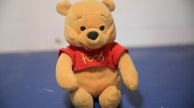 Disney Winnie The Pooh Plushie Stuffed Animal Toy Small  Pooh Bear