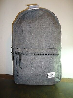 1cf1cff48 Herschel Supply Co Unisex Backpack Raven X Gray No 10005-00919-Os New With