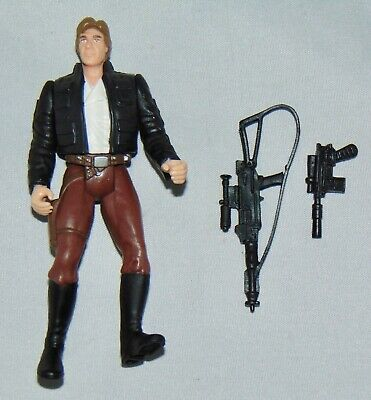 """Star Wars Power Of The Force 3.75"""" Bespin Han Solo Figure Used Complete POTF"""