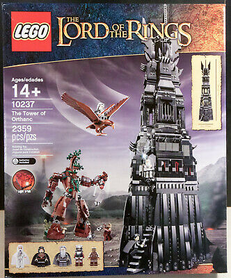 LEGO Lord of the Rings The Tower of Orthanc (10237) New Sealed Box