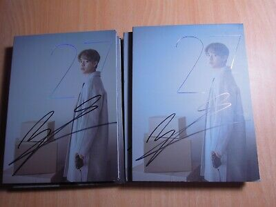 """JUNG DAE HYUN (B.A.P) Chapter2 """"27"""" (1st Min Promo) with Autographed (Signed)"""