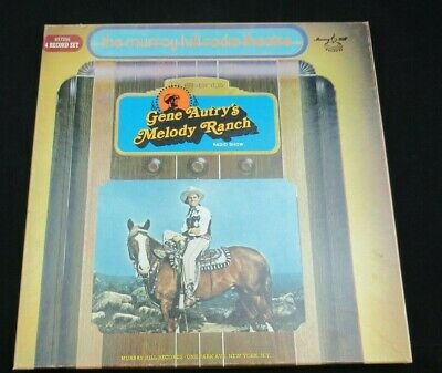 Gene Autry's Melody Ranch 4 Record Set.