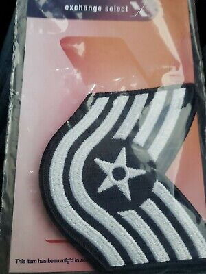 USAF US Air Force Female Technical Sergeant Chevrons Stripes Rank Current
