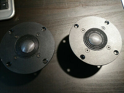 """New MB Quart Tweeters 95 6665 Made in Germany NOS 1"""" titanium dome Pair"""