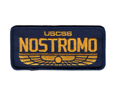 Hook Navy Blue Nostromo Name Ship Crew Alien Movie Tactical Patch