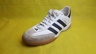 cd63a9c6a78 Adidas Samba Millennium Indoor Soccer Shoes White Beige Black (Size  11)  661694