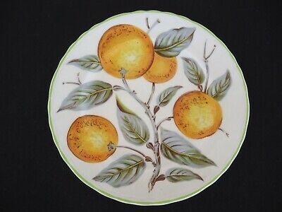 wood & sons england orange grove bread & butter plate