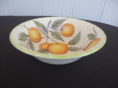wood & sons england orange grove cereal bowl