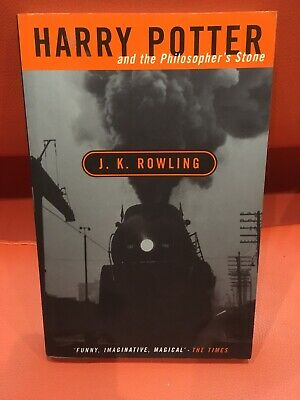 Harry Potter And The Philosopher's Stone Adult Paperback 1St Edition 15 Printing