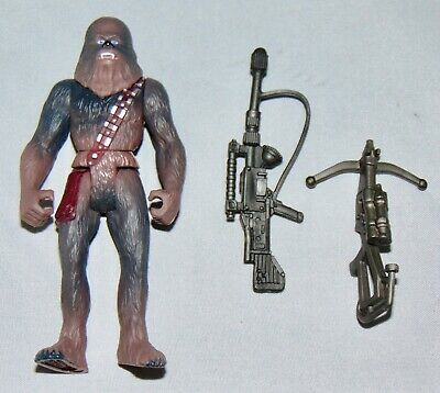 """Star Wars Power Of The Force 3.75"""" Chewbacca Action Figure Used Complete POTF"""
