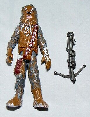 """Star Wars Power Of The Force 3.75"""" Hoth Chewbacca Action Figure Complete POTF"""