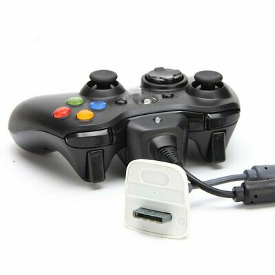 USB Charger Play and Charge Cable Cord for Xbox 360 Wireless Controller CW