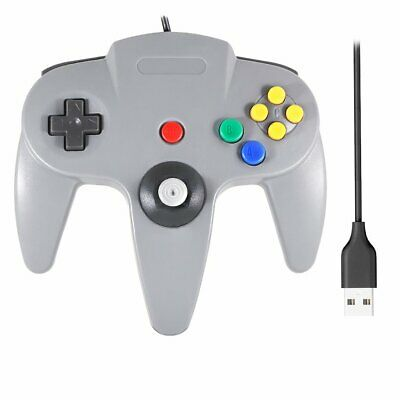 N64 Games Classic Gamepad Controllers Nintendo 64 For Usb Pc Mac