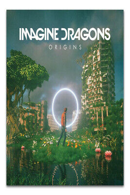 W048 Art Poster Imagine Dragons Evolve Pop Music Album 14x21 24x36 Hot